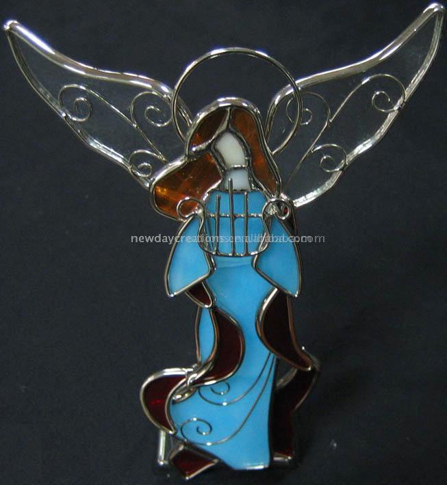 Stained Glass Cross (Витражи Крест)