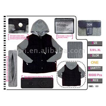 Authentic Original Order Brand Ladies` Sweater & Jacket