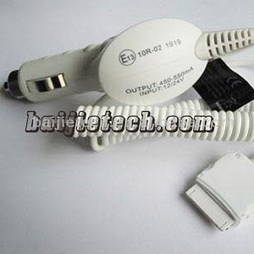 Car Charger for iPod (CE/RoHS) (Chargeur allume-cigare pour iPod (CE / RoHS))