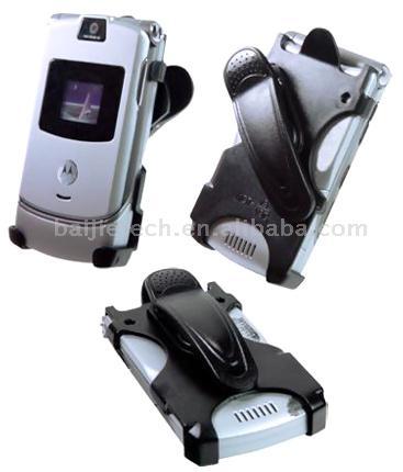 Compatible Motorola RAZR Razor V3 Holster With Clip (Compatible Motorola RAZR V3 Razor Holster avec clip)