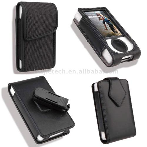 Leather Case for Microsoft Zune (Housse en cuir pour Microsoft Zune)
