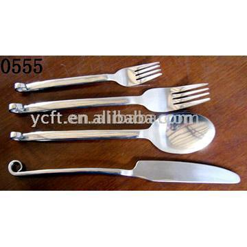 Stainless Steel Flatware (0555)
