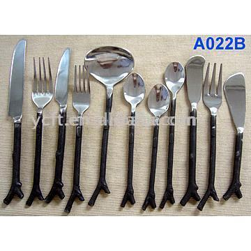 Stainless Steel Flatware (A022B)
