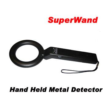 Hand Held Metal Detector (MD300)