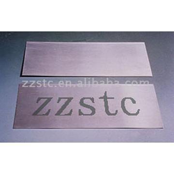 Molybdenum Plate, Tungsten Plate, TZM Plate (Тарелка молибдена, вольфрама Plate, ТЗМ Plate)
