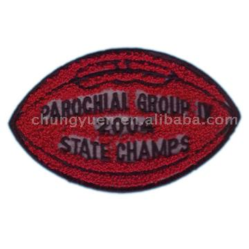 Chenille Embroidery Badge or Patch ( Chenille Embroidery Badge or Patch)