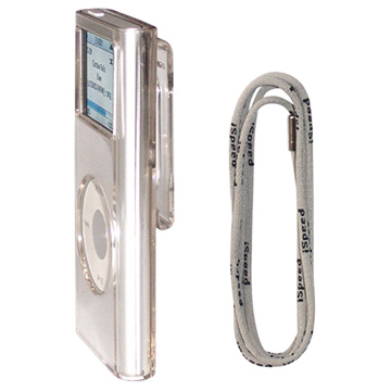 Crystal Case and Lanyard Compatible with iPod Nano (Crystal Case и Ремешок Совместим с Ipod Nano)