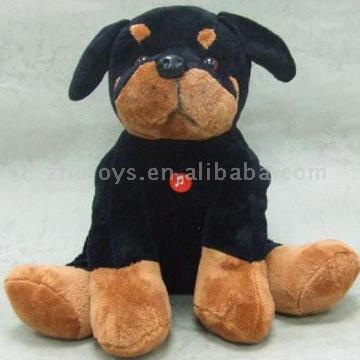 target dog stuffed animal. Stuffed Toy in Dog Shape with