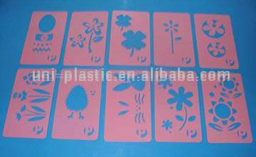 Plastic Templates and Stencils