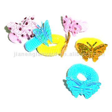 Terrycloth Holder with Papilionaceous Flower (Махровые Держатель с мотыльковый Цветочные)