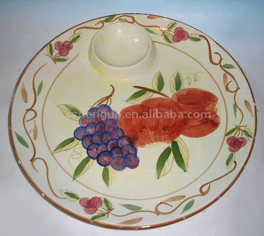 Dolomite Snack Plate (Доломит Закусочная Plate)
