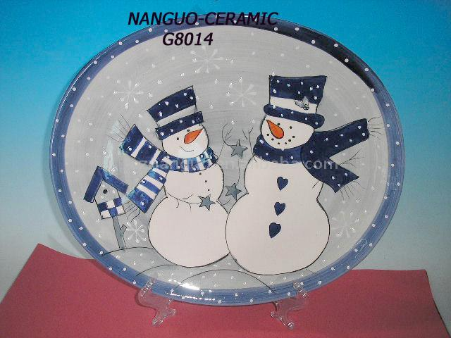 Keramik Weihnachten Tafel (Keramik Weihnachten Tafel)