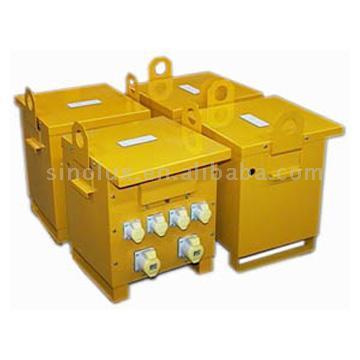 Portable Transformer And Site Transformer (Портативный трансформатор и трансформатор сайту)
