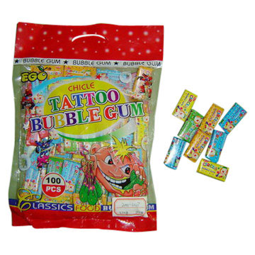 Tattoo Bubble Gum (Тату Жевательная резинка)