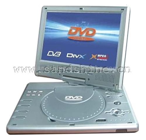 "7"" Portable MPEG4 DVD Player & DVB-T & ATV & Game & US (7 ""Портативный DVD-проигрыватель MPEG4 & DVB-T & ATV & Game & США)"