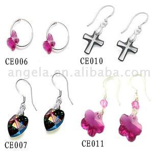 Fashion Crystal Earrings (Fashion Ohrringe)