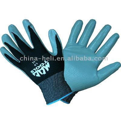 Latex (Nitrile) Coating Gloves (Латекс (нитрил) Покрытие Перчатки)