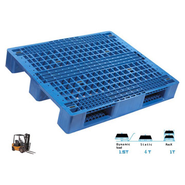 Plastic Pallet (Three-Row Feet)