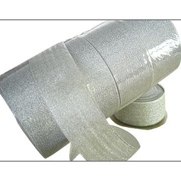 Silver Metallic Ribbon (Серебро Металлические ленты)