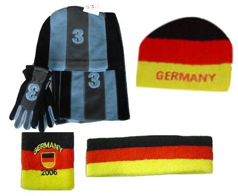 Strick-Handschuh, Schal und Mütze Set (Strick-Handschuh, Schal und Mütze Set)