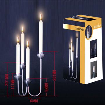 Stainless Steel Candle Holder (Нержавеющая сталь свеча Организатор)