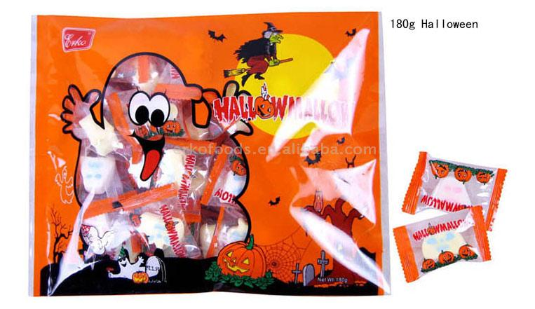 Halloween Marshmallow (Хеллоуин Зефир)