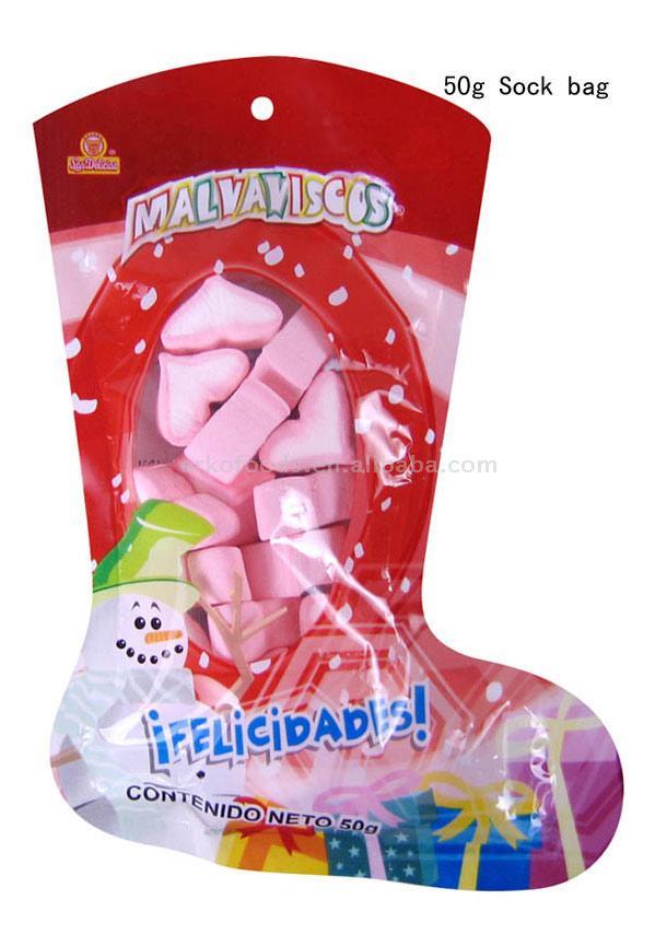 Marshmallow (Sock Bag) (Зефир (Носок мешок))