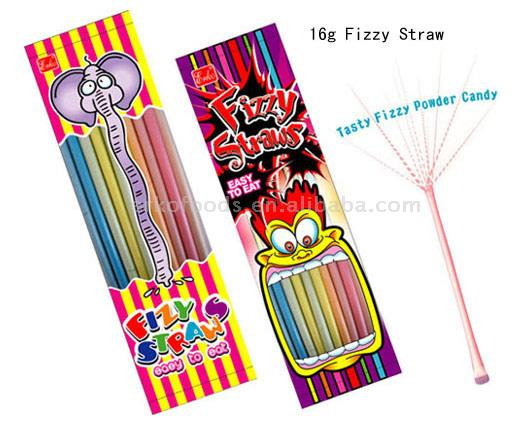 Fizzy Straw Candy (Fizzy Солома Candy)