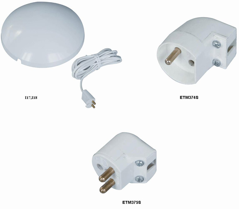 Ceiling Kit, Rewirable Lamp Socket and Plug (Plafond Kit, Rewirable Lamp Socket et Plug)