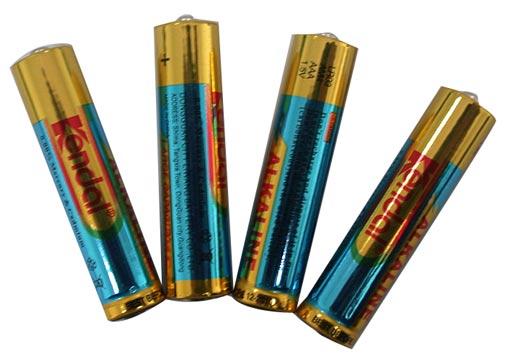 Alkaline AAA Size Battery (Щелочные аккумуляторы размера AAA)