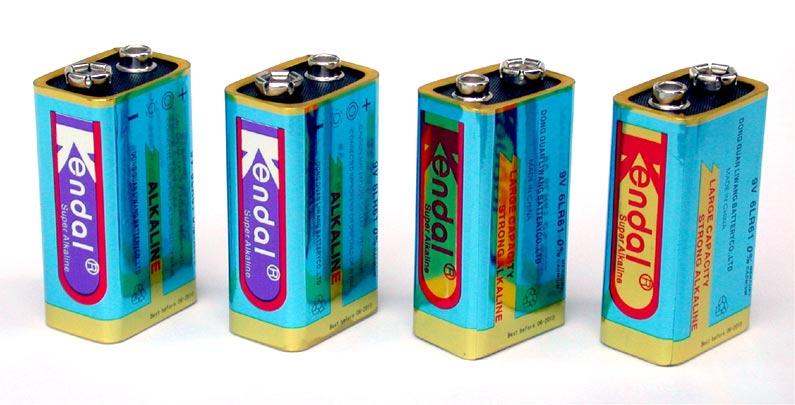 9V Alkaline Battery (9V щелочная батарейка)