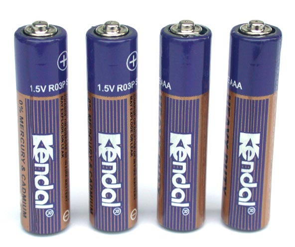 R03P Carbon Zinc Battery (R03P углерода цинковый аккумулятор)