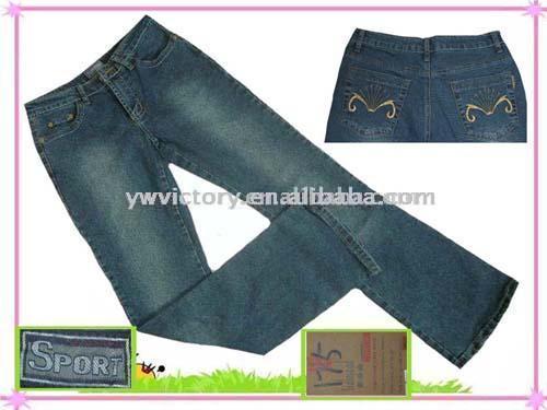 Stock Lady`s Low-Waist Stretch Jeans (Фондовый Lady`s низкой талией джинсы стрейч)