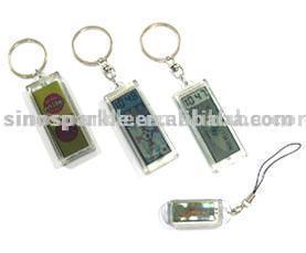 Solar Power Flash LCD Key Chains (Солнечные вспышки ЖК Брелки)