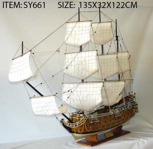 Model Sailing Boat (Модели Парусная лодка)