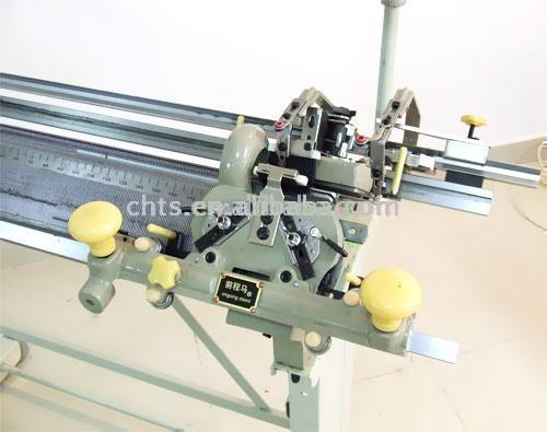 First Generation Multi-Functional Hand Driven Flat Knitting Machine