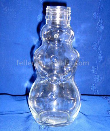 Snowman Shaped Bottle (Снеговик флакон)