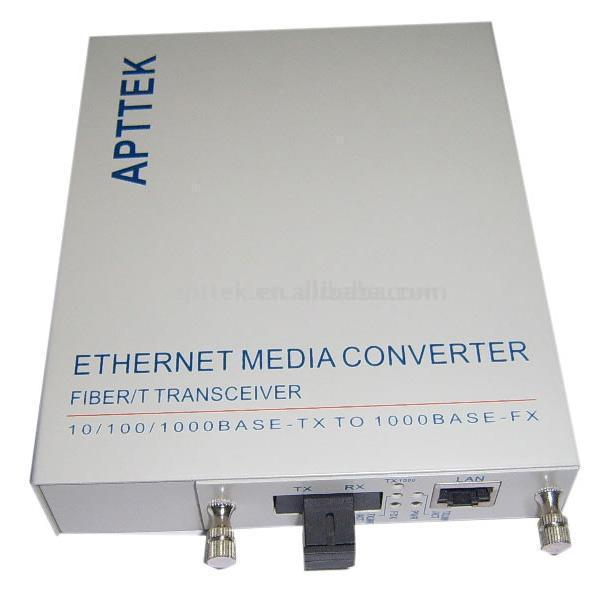 10/100/1000M CWDM Built-In Power Supply Media Converter (10/100/1000M CWDM встроенный блок питания Media Converter)