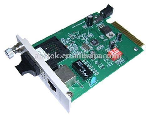10/100M Cassette Media Converter (10/100M Cassette Media Converter)