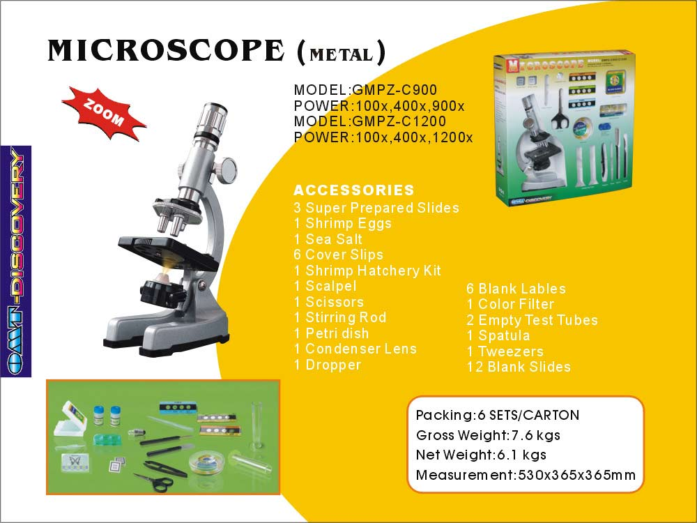 Metal Microscope (Металл микроскоп)