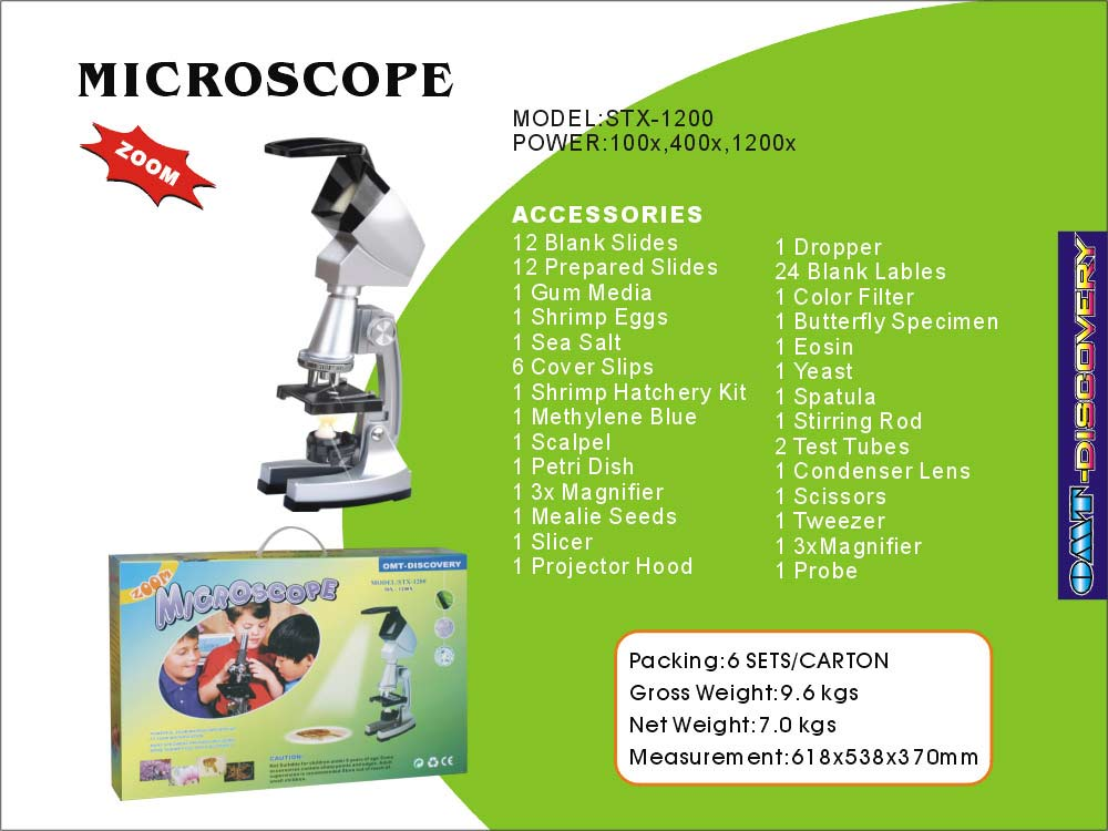 Microscope (Factory Supply) (Микроскоп (заводская поставка))