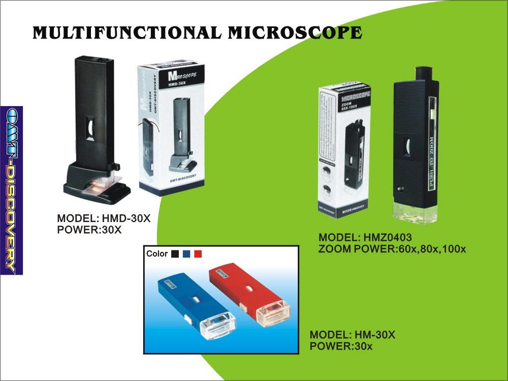 Pocket Microscope, Optical Glass Lens (Factory Supply) (Карманный микроскоп, оптическое стекло объектива (заводская поставка))