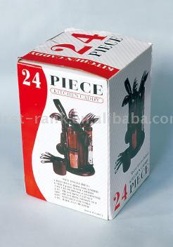 24pc Kitchen Tool Set