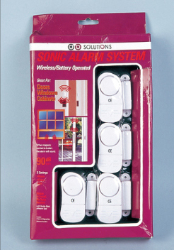 4pc Window & Door Alarm Set