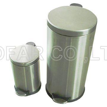 430 Stainless Steel Round Dustbin (430 Нержавеющая сталь круглого Dustbin)