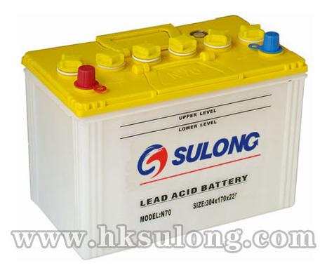 JIS-Dry Charged Lead Acid Battery