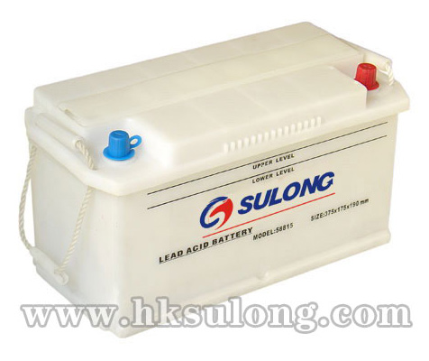 DIN-Dry Charged Lead Acid Battery