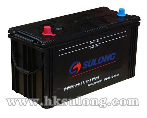DIN-Sealed Maintenance Free Battery