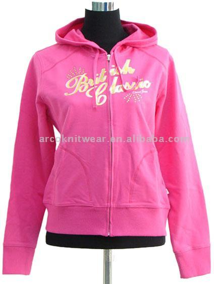 Women Zipper Hoody Jacket (Женщины Zipper Hoody J ket)