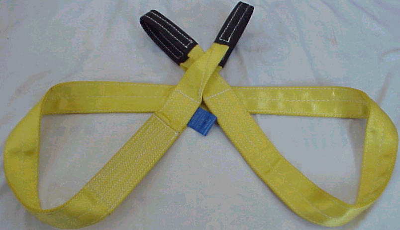 Polyester Webbing Sling with Lifting Eyes